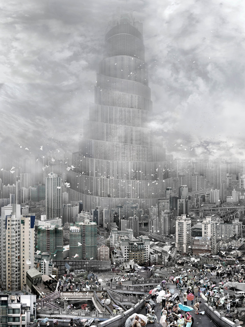 , 'BABEL TOWER- the wind 风,' 2010, RED ZONE ARTS