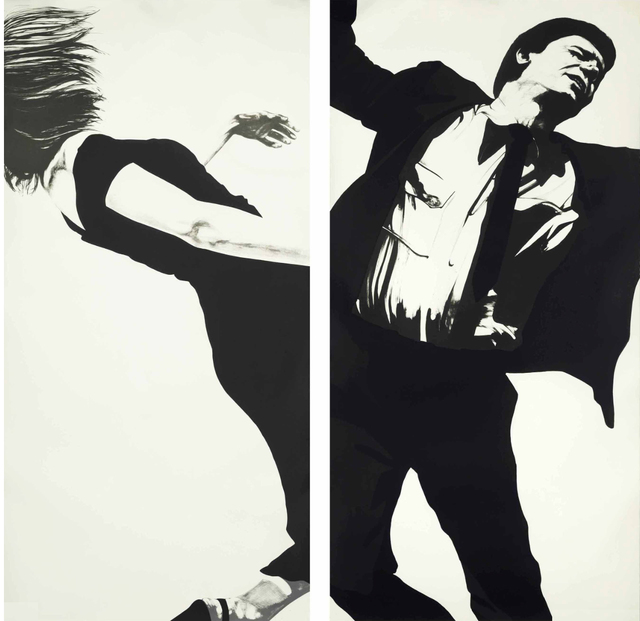 Robert Longo, 'Men in Cities (Joanna and Larry)', 1983, Susan Sheehan Gallery