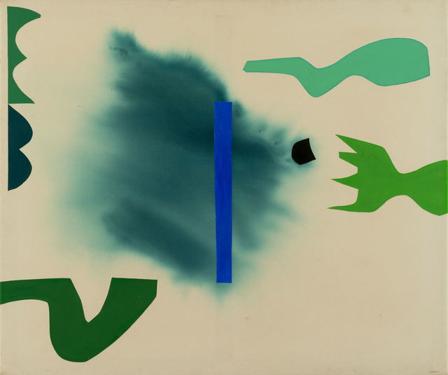 Guy Warren, 'Greens floating maturity', 1969, Painting, Acrylic on canvas, King Street Gallery on William