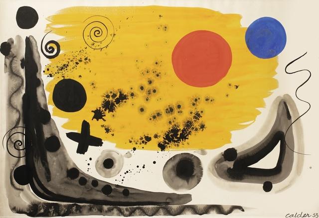 Alexander Calder, 'Spheres and Stars', 1953, Sotheby's