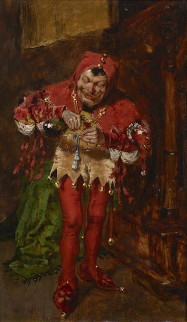 , 'The Jester ,' 1875, Debra Force Fine Art