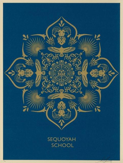 Shepard Fairey, 'Sequoyah School Mandala', 2016, Heritage Auctions