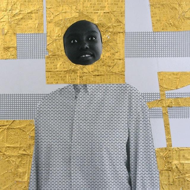 , 'Aminata #1, Or serie,' 2013, Galerie Cécile Fakhoury - Abidjan
