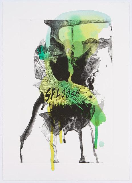 , 'Sploosh,' 2012, Graphicstudio USF