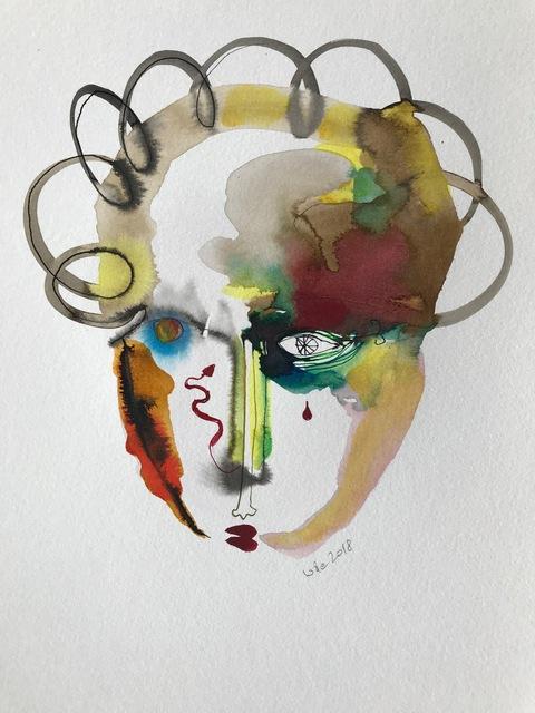 Wole Lagunju, 'Cliche Tears IV ', 2017, Ed Cross Fine Art