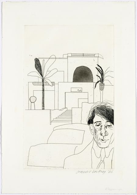 David Hockney, 'Fourteen poems by C P Cavafy', 1970, Koller Auctions