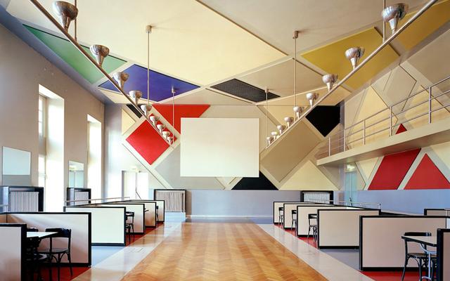 , 'Café de l'Aubette,' 1926-1928, Triennale Design Museum