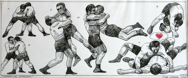 , 'Wrestlers,' , Gallery Katarzyna Napiorkowska | Warsaw & Brussels