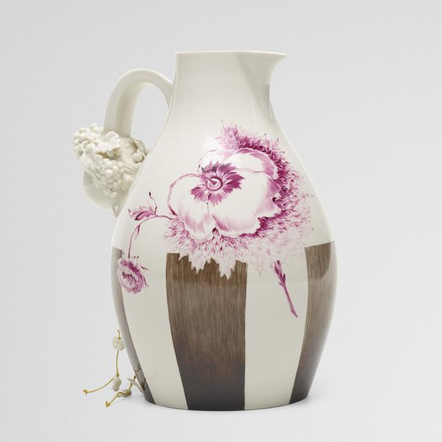 Nymphenburg Porcelain Manufactory, 'Autumn wine jug', 2007, Wright