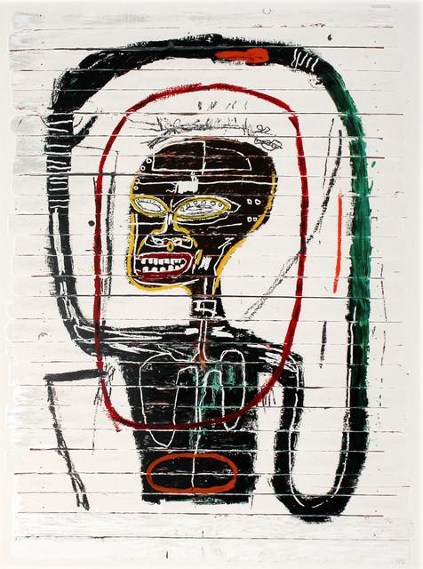 Jean-Michel Basquiat, 'Flexible', 2016, Print, 24-Color Screenprint, ArtLife Gallery