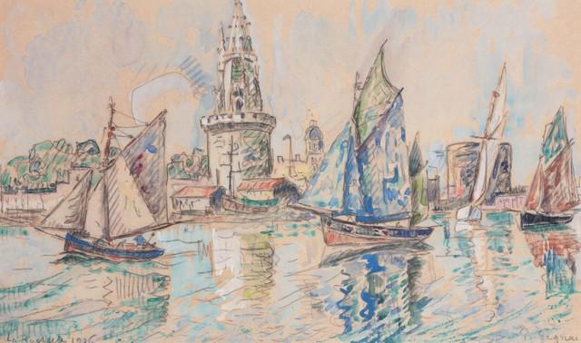 , 'La Rochelle,' 1926, Daphne Alazraki Fine Art