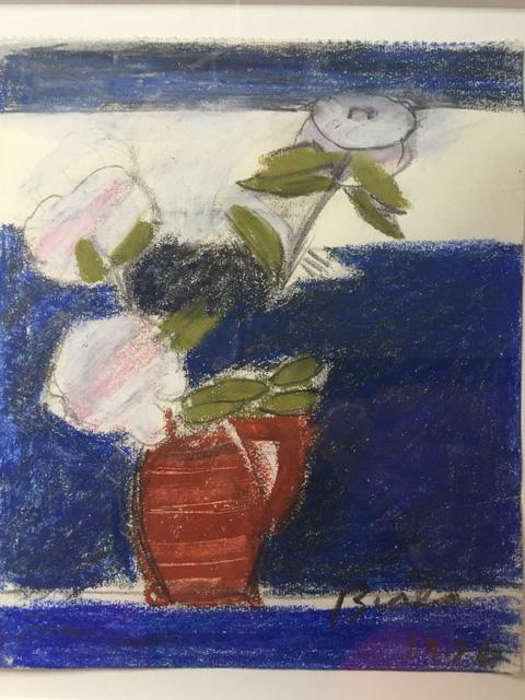 Janice Biala, 'Untitled (Peonies in Red Vase)', 1976, Sigrid Freundorfer Fine Art