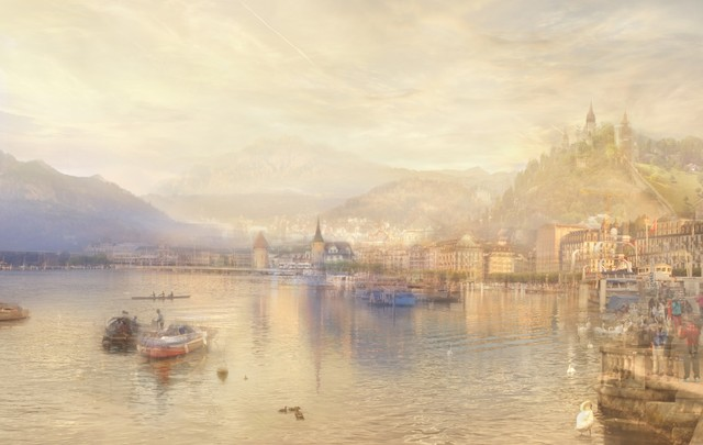 , 'J.M.W.Turner Lucerne from the Lake, 1842,' 2014, Galerie Thomas