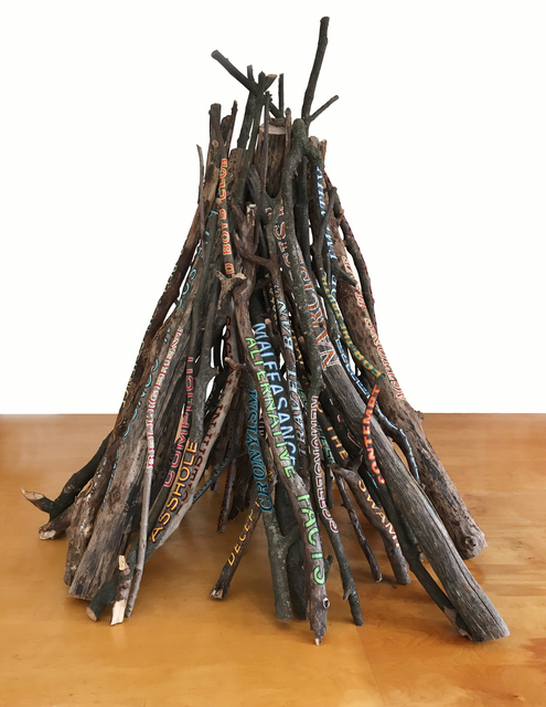 , 'Bonfire,' 2017, Brian Gross Fine Art