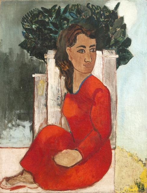 , 'Mulher de Vermelho,' ca. 1930, Galeria Frente