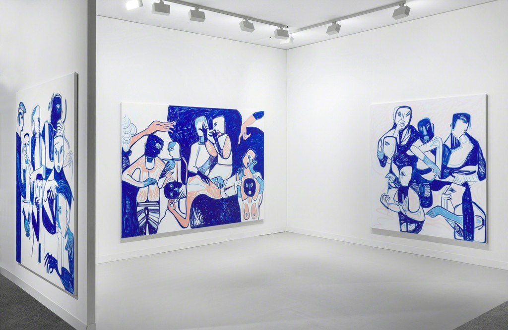 Melike KARA, Art Basel Miami Beach 2016, Installation View – Courtesy Peres Projects, Berlin