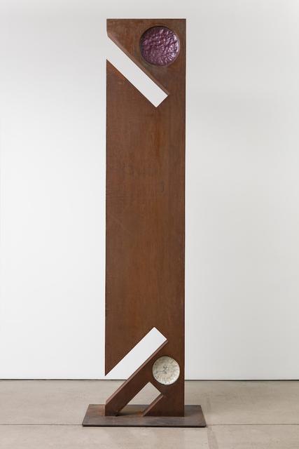 , 'Jackknife Monolith,' 2018, SPACE Gallery