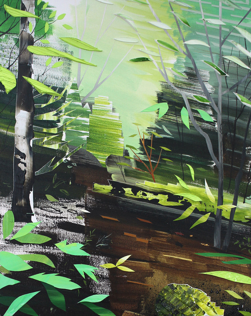 , 'Moving Woods,' 2017-2018, Michael Gibson Gallery