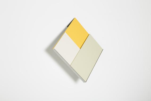, 'overlap (yellow), after otti berger,' 2017, Josée Bienvenu