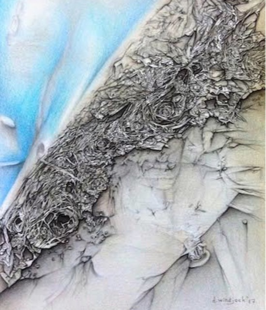 Darrell Windjack, 'Galactic Mystery ', 2017, Lotus Art Gallery