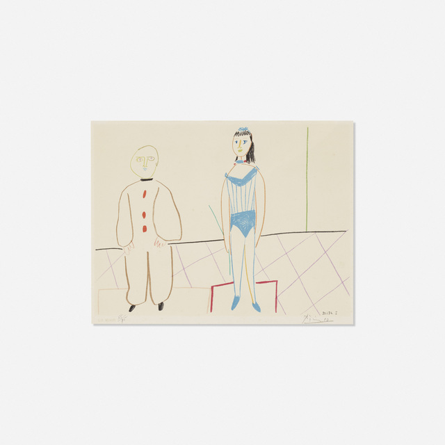 Pablo Picasso, 'Verve Nos. 29-30 9 (one plate)', 1954, Print, Lithograph on paper, Rago/Wright