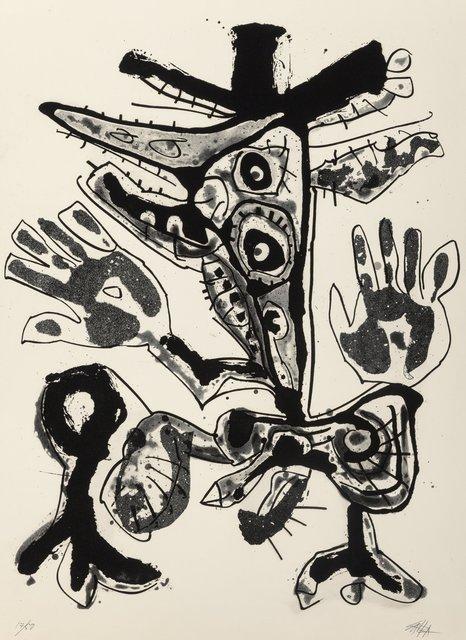 Antonio Saura, 'Amelia, from the Novisaurias series', 1969, Heritage Auctions