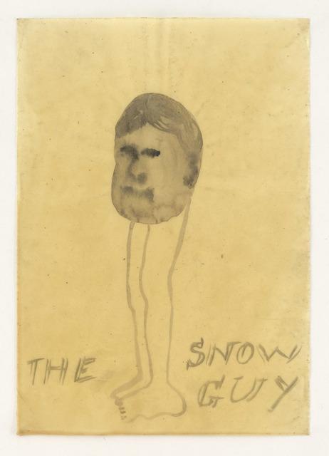 , 'Snow Guy,' 2010, Wooson Gallery