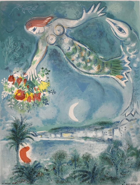 , 'Siren and Fish, from: Nice and the Côte d'Azur | Sirène et Poisson,' 1964, Gilden's Art Gallery