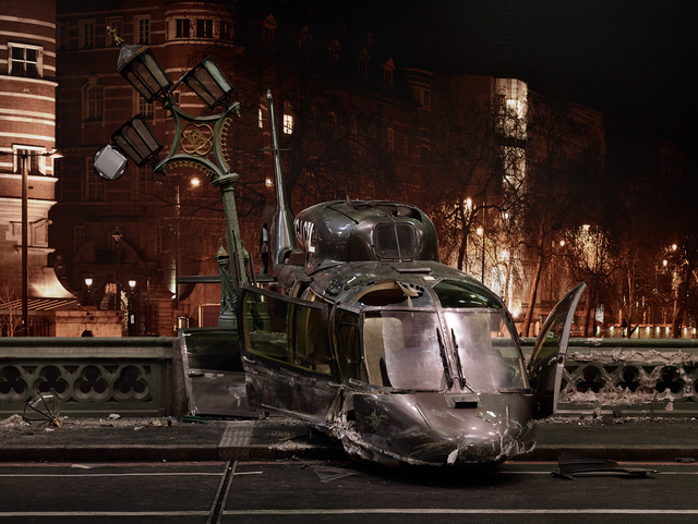 , 'Westminster Bridge, Helicopter Close Up, from »On the Set of James Bond's Spectre«,' 2015, CAMERA WORK