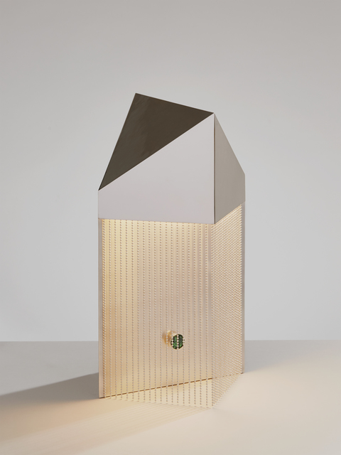 , 'Silver Veil Table Lamp,' 2017, PELLE