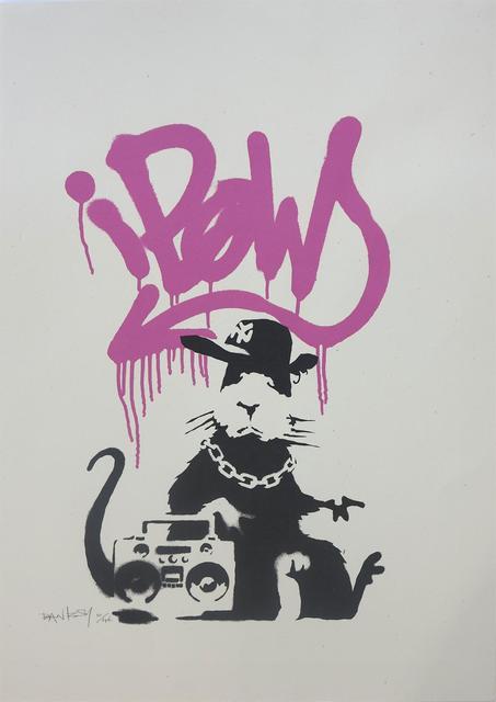 Banksy, 'Gangsta Rat', 2004, Kings Wood Art