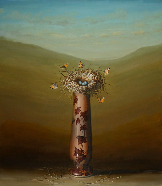 , 'Vase and Nest,' 2011, Lisa Sette Gallery