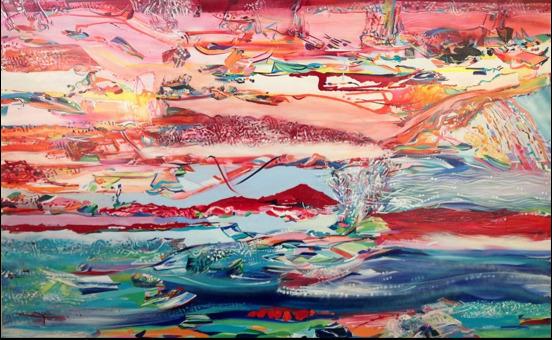 , 'Horizon 9,' 2016, C24 Gallery