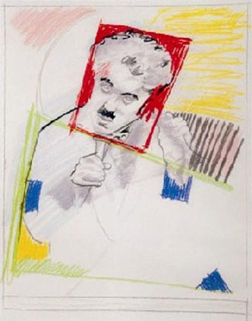 , 'Early Chaplin,' 1991, The Cash Register Art Project