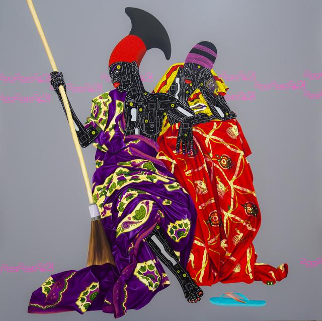 Eddy Kamuanga Ilunga, 'Sans Titre', 2016, October Gallery