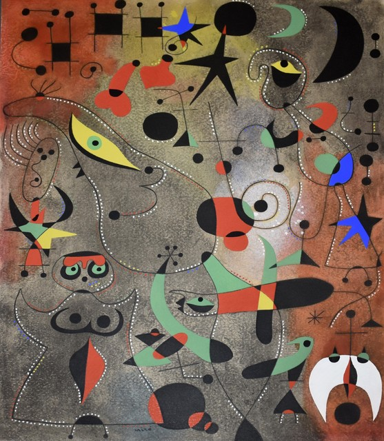 Joan Miró, 'Le reveil au petit jour (Awakening in the Early Morning), Plate XIV', 1959, Georgetown Frame Shoppe