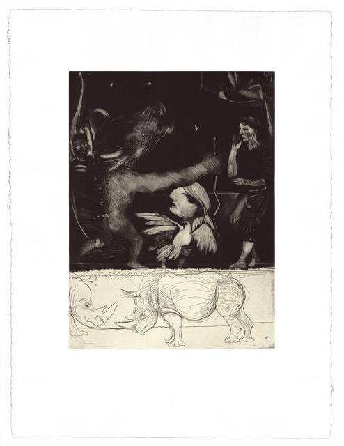 Diarmuid Delargy, 'Art & Extinction', 2014, Print, Intaglio, Stoney Road Press