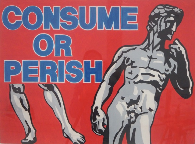 , 'CONSUEM OR PERISH,' 1989, Brigitte March International Contemporary Art