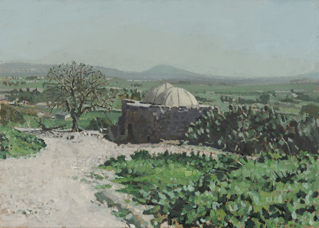 Elie Shamir, 'Jezreel Valley with the Tomb of Sheikh Sirius', 2012, Zemack Contemporary Art