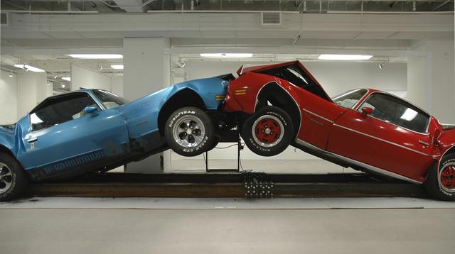 Jonathan Schipper, 'The Slow Inevitable Death of American Muscle', 2007, Installation, Mixed media, Pierogi
