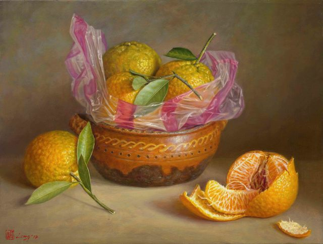, 'Oranges,' 2017, East Gallery