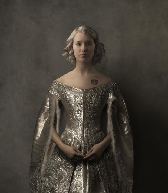 , 'Girl in the Silver Dress,' 2016, SmithDavidson Gallery