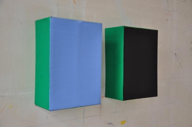 , 'Dix Jours / Dix Nuits (green),' 1985, Tatjana Pieters