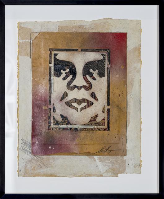 Shepard Fairey (OBEY), 'Icon Stencil', 2017, Print Them All