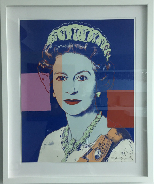 Andy Warhol, 'Reigning Queens (Royal Edition): Queen Elizabeth II of the United Kingdom', 1985, Print, From the portfolio of sixteen screenprints on Lenox Museum Board with diamond dust, Coskun Fine Art