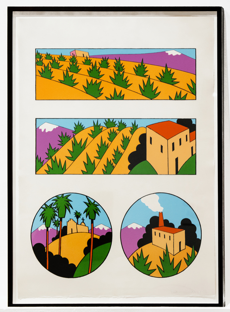 Ken Price, 'Four Images of New Mexico', 1977, Brooke Alexander, Inc.