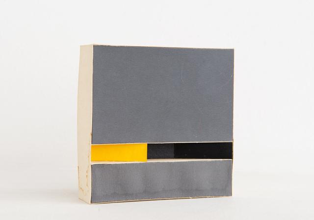 , 'Modulated Construction,' 1970, GALERÍA JOSÉ DE LA MANO