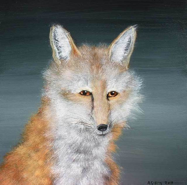 Anne Siems, 'Wise Fox Face', 2019, Visions West Contemporary