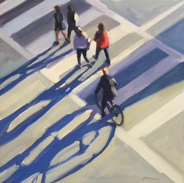 , 'Crosswalk Shadows,' 2018, STUDIO Gallery