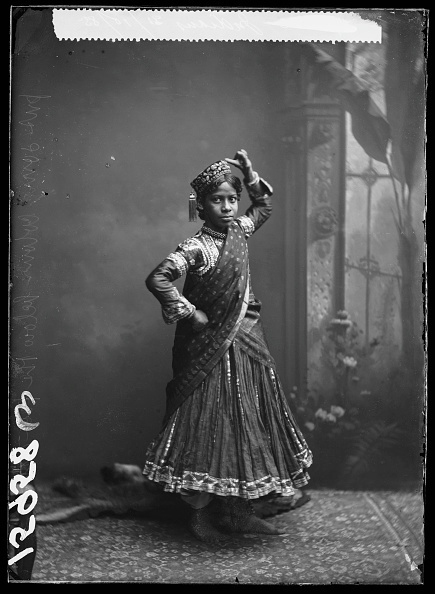 , 'Nautch Girl,' 1885, Getty Images Gallery